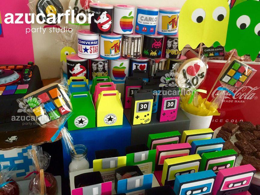 Decoracion fiestas ochenteras buscar con google fiesta pinterest 80s party - Decoracion fiesta 80 anos ...