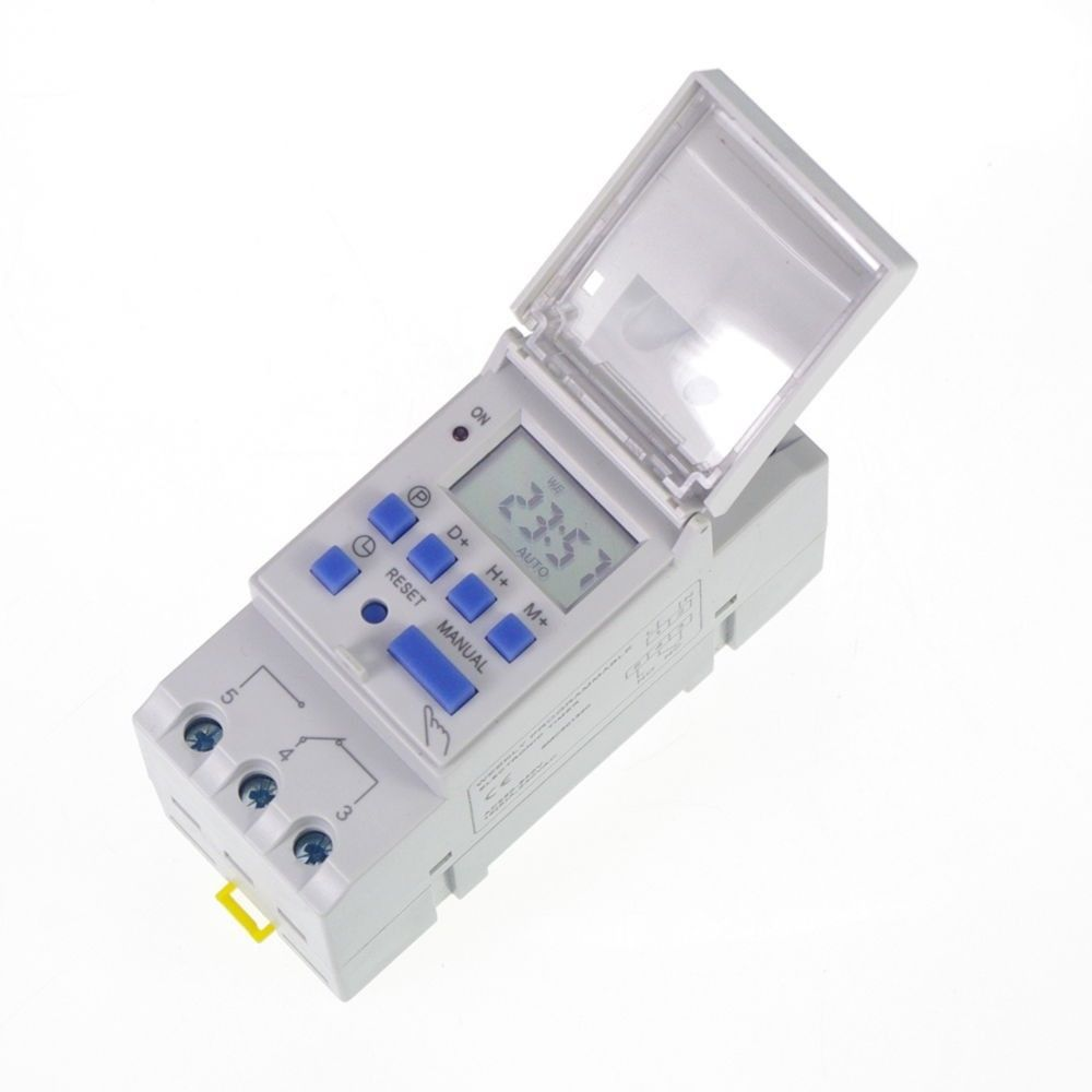 12v 16a Din Rail Digital Programmable Timer Time Relay Switch Affiliate Digital Timer Timer Digital