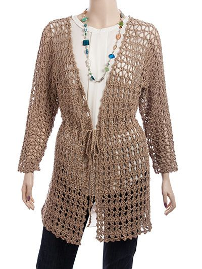 Crochet A Short Sleeve Hooded Sweater For Spring Pattern