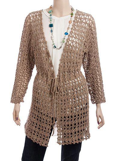Crochet a Short Sleeve Hooded Sweater for Spring Pattern   Crochet ...