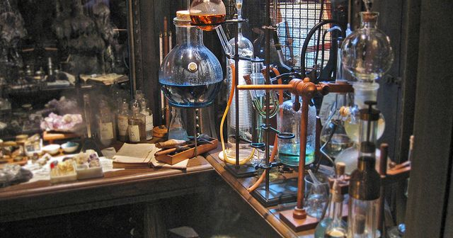 Science For The Center Of The Earth Steampunk Alchemy