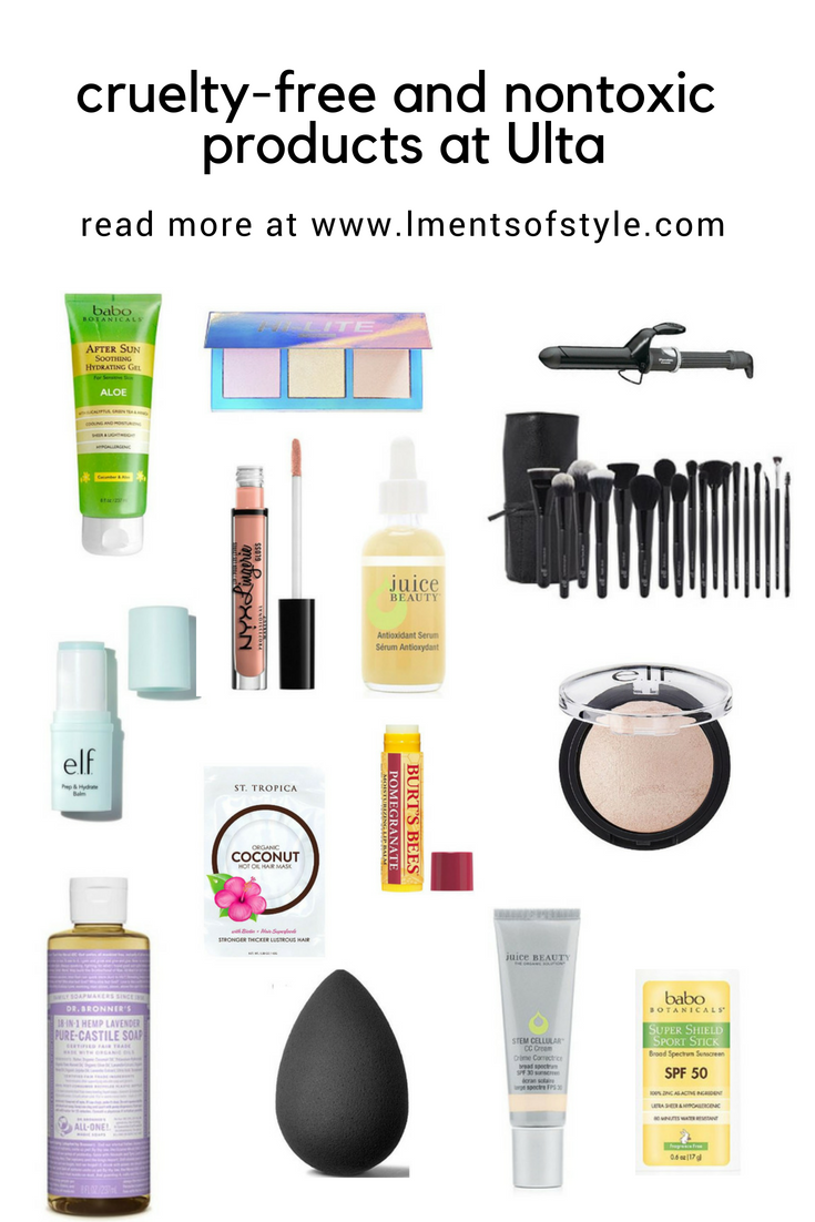 CrueltyFree and Nontoxic Beauty Products at Ulta (With