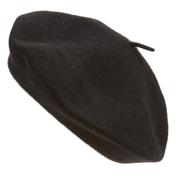 4e3ba62bc2d Parkhurst  Classic  Wool Beret (100 MYR) ❤ liked on Polyvore featuring  accessories
