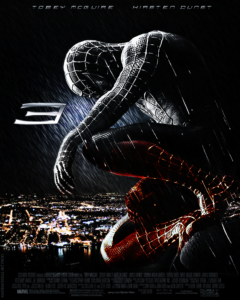 spider man 3 -- my favorite spiderman movie of all time. i know most