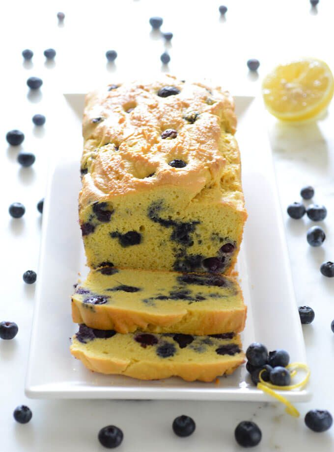 Keto Blueberry Lemon Bread Recipe Food Processor Recipes Food