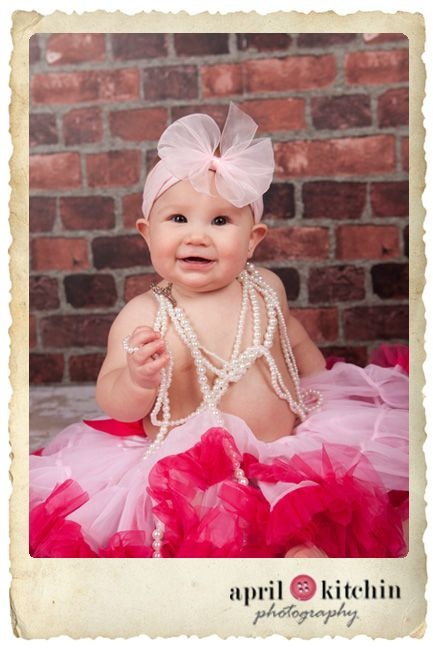 6 Month Baby Picture Ideas Girl