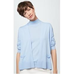 Photo of Fine knit cardigan in light blue windsorwindsor