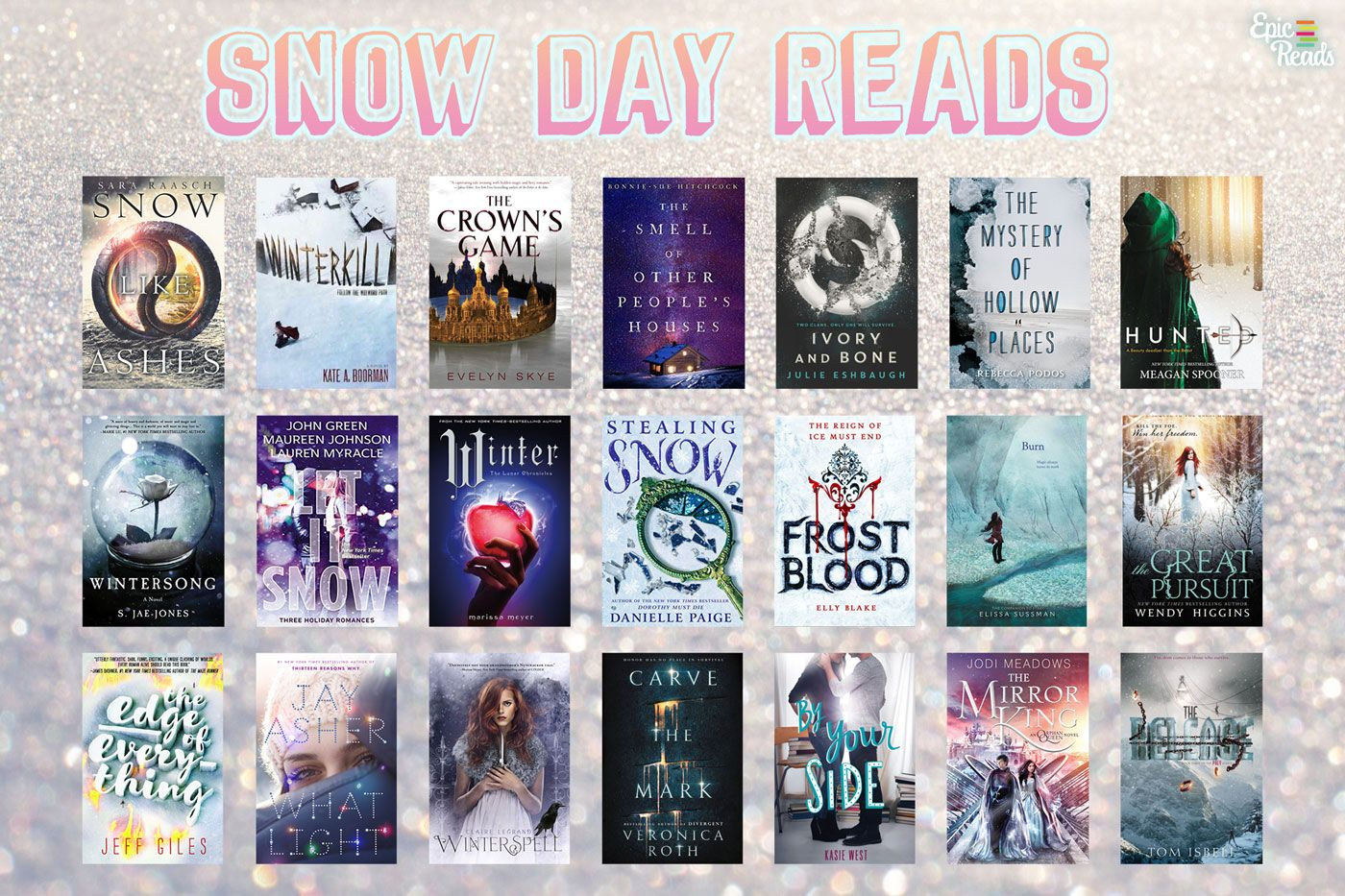 21 Snowy Books To Read During The Next Snowmageddon Books To Read Winter Books Books For Teens