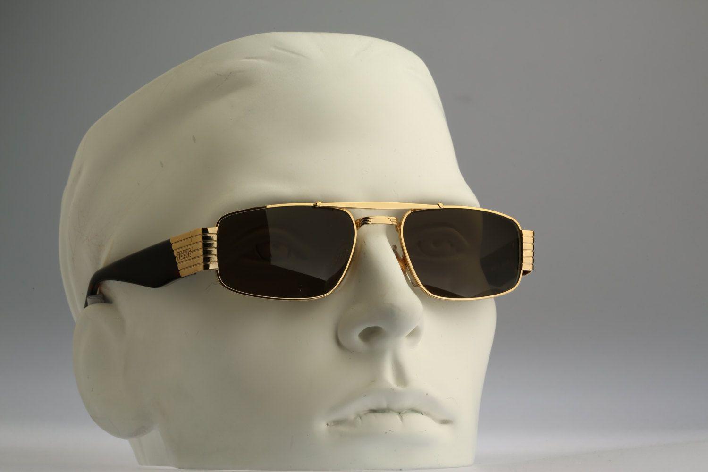 9233f9e1935 Versus Gianni Versace Mod F13 Col 030   Vintage sunglasses   NOS   Rare 90s  designer eyewear by CarettaVintage on Etsy