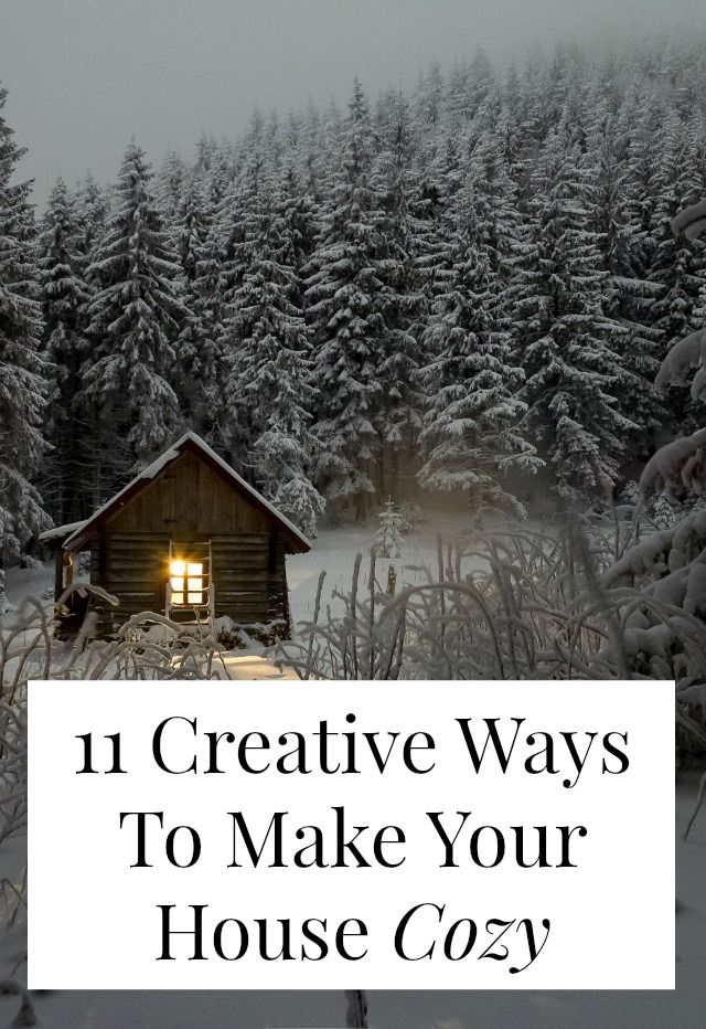 How to make your house cozy #cozyliving