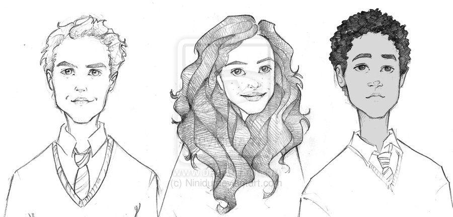 Cormack Romilda Dean By Ninidu On Deviantart Harry Potter Art Drawings Harry Potter Fan Art Harry Potter Art