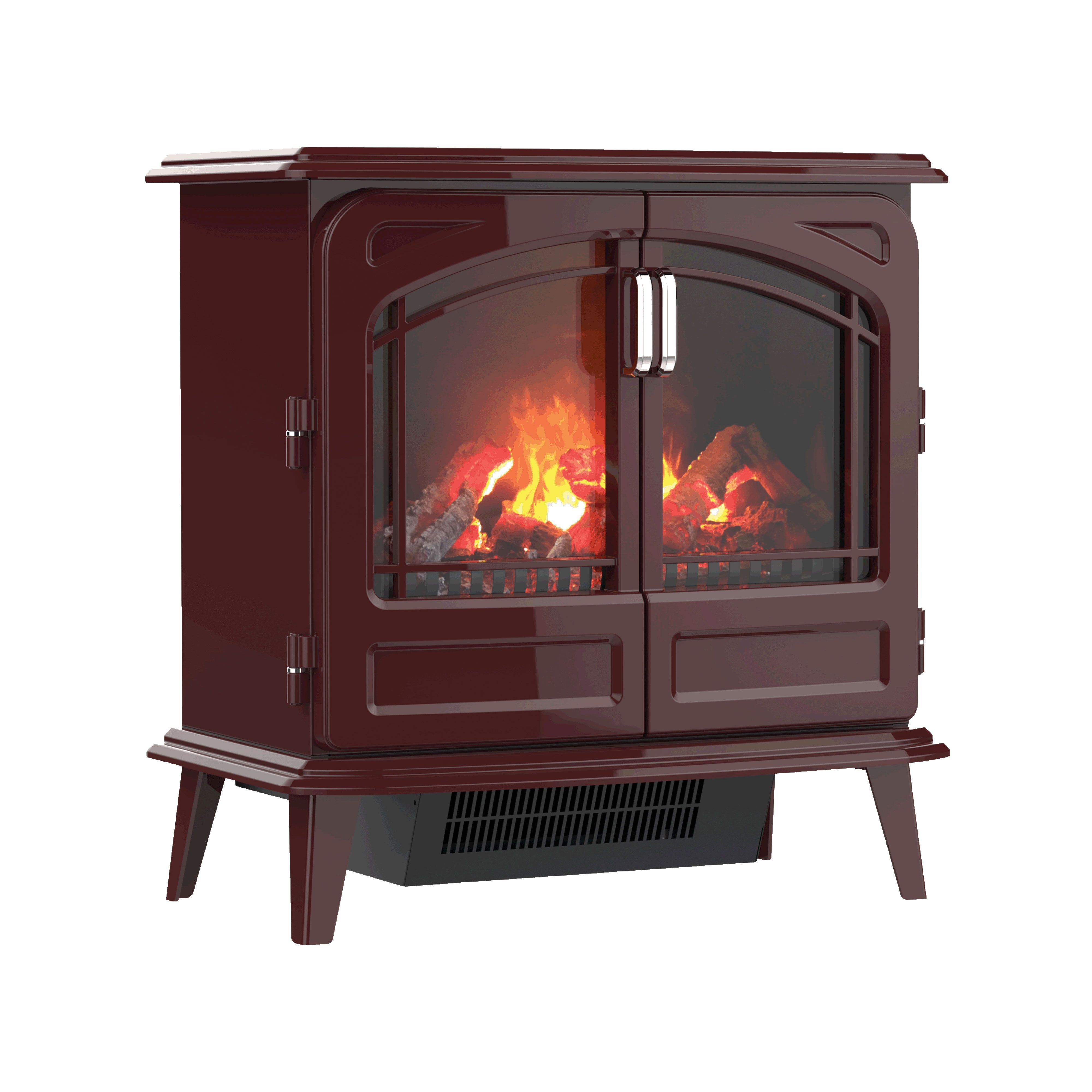 watch home space with hughes electric quartz heater star infrared fireplace dan twin