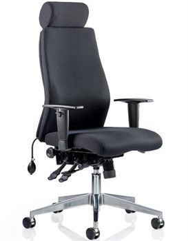 Ergonomic Desk Chair Uk Medieval Throne Onyx Office Operator Chairs