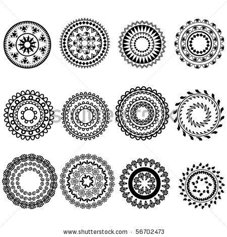 Moroccan Stencils Free Download Mandala Design Henna Art Inspired