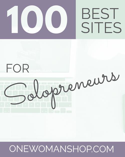 100 Best Sites for Solopreneurs