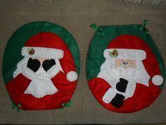 Vejam Que Linda E Divertida Ideia Encontrei Na Internet Tambem Espero Fazer Algumas Para O Natal Usando Tecido De Sarja Verde