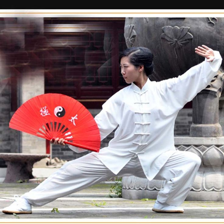 Chinese Tai Chi Fan | Bend Like A Reed In The Wind  | Tai chi, Kung