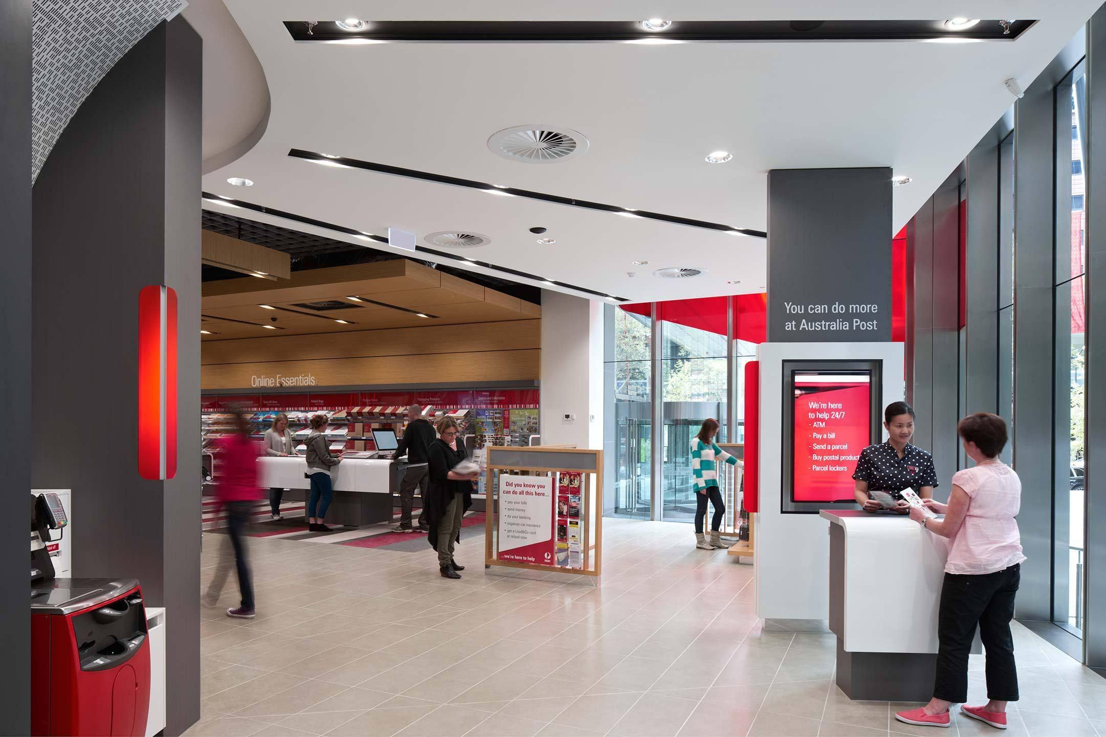 Australia Post Store Design