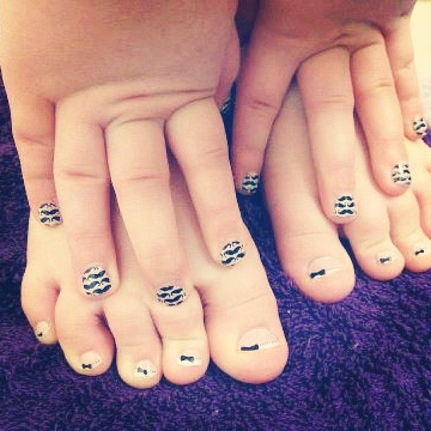 French Tip Bows & Little Mo Mo nail wraps by Jamberry Nails | Favs x ...