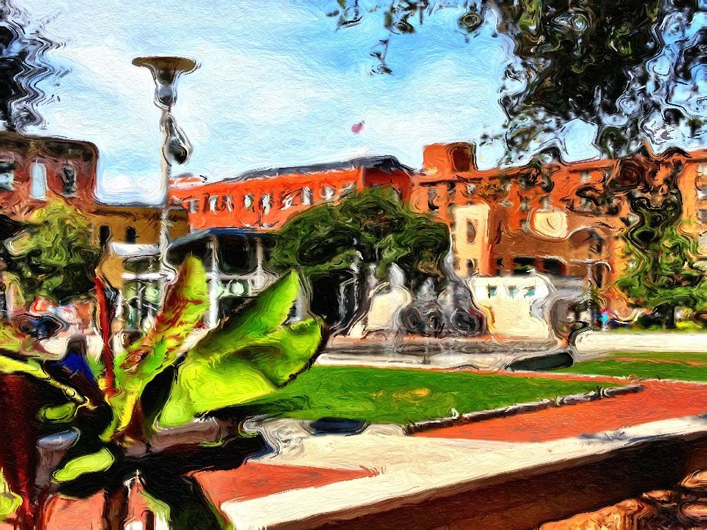 Ellis Square, Savannah, GA