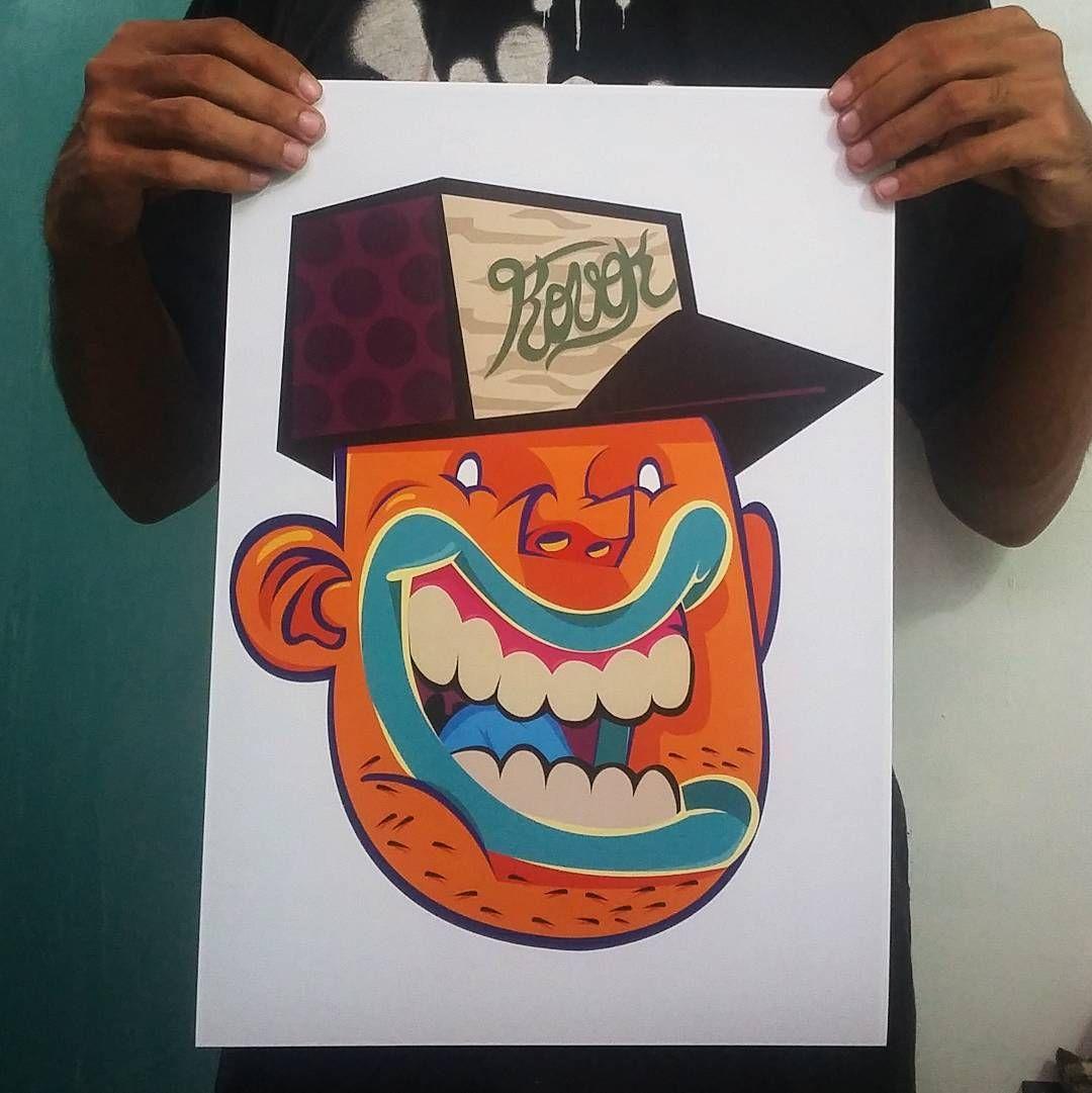 Nova série de prints!  20 unidades numeradas e assinadas.  Interessados :  brunolifekvk@ gmail.com Ou direct.  Frete grátis!   #kovokcrew #graffiti #artrua #arteurbana #streetartrio #kovokday #gravura #multiplos #print by brunolifekvk
