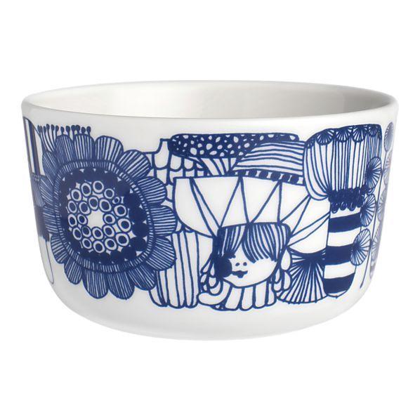 heck yeah i want this marimekko siirtolapuutarha bowl from crate ...