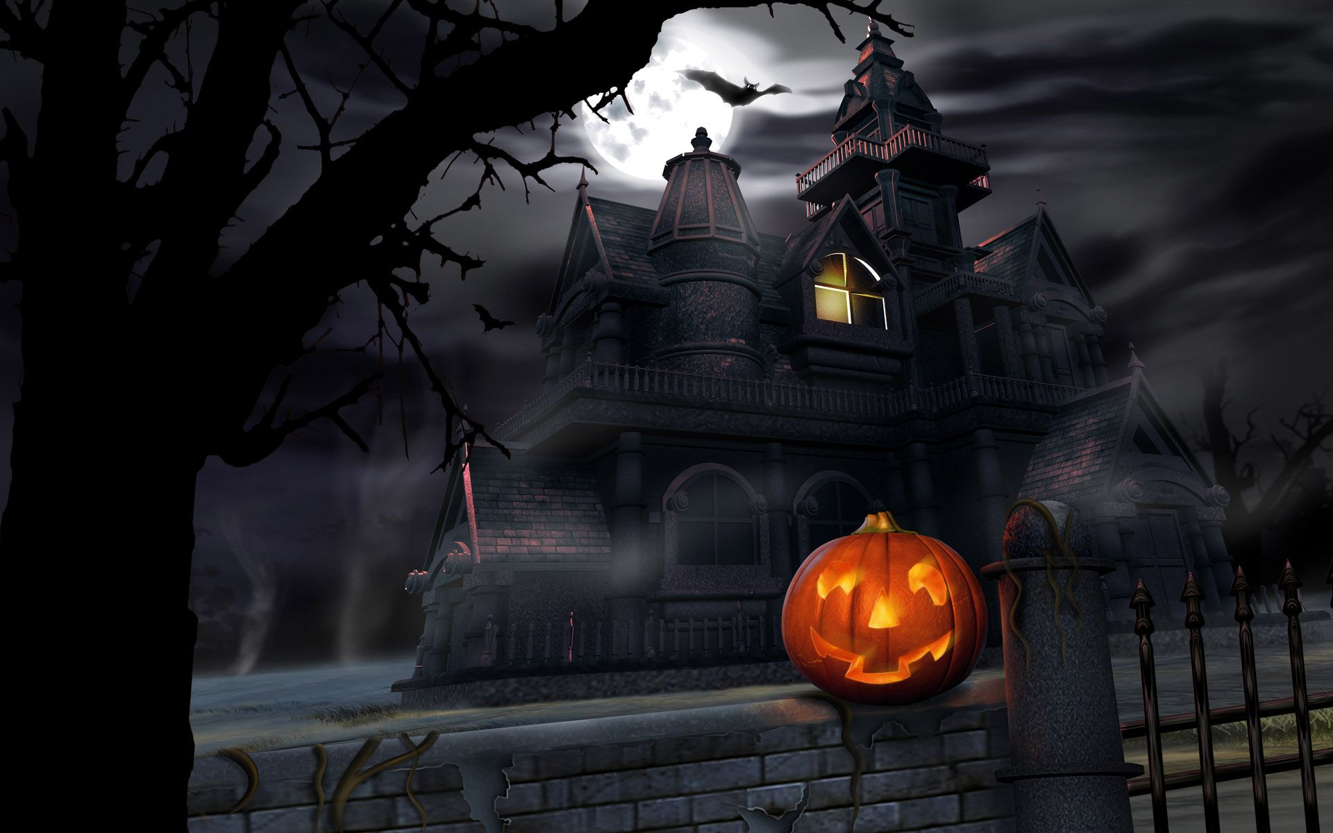 45 Scary Halloween 2012 Hd Wallpapers With Images Halloween