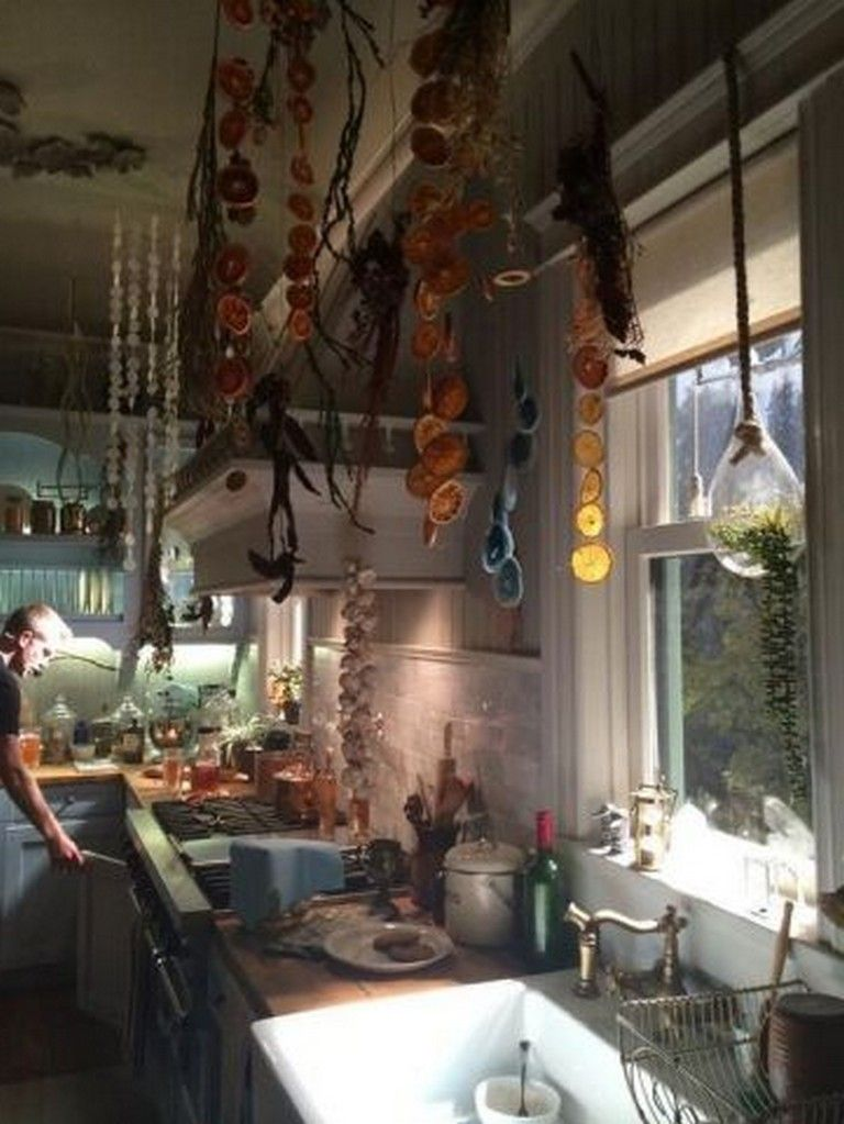 20 Amazing Witch Decor For Inspired Many Magicians To Decorate His Personal Space Apartment Bedroom Design Eclectic Kitchen Decor