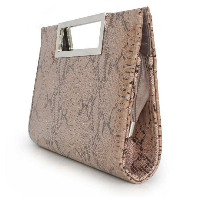 Sassy PU Handbag With Serpentine Pattern With Cheapest Price $35.98 Offered By Prinkko