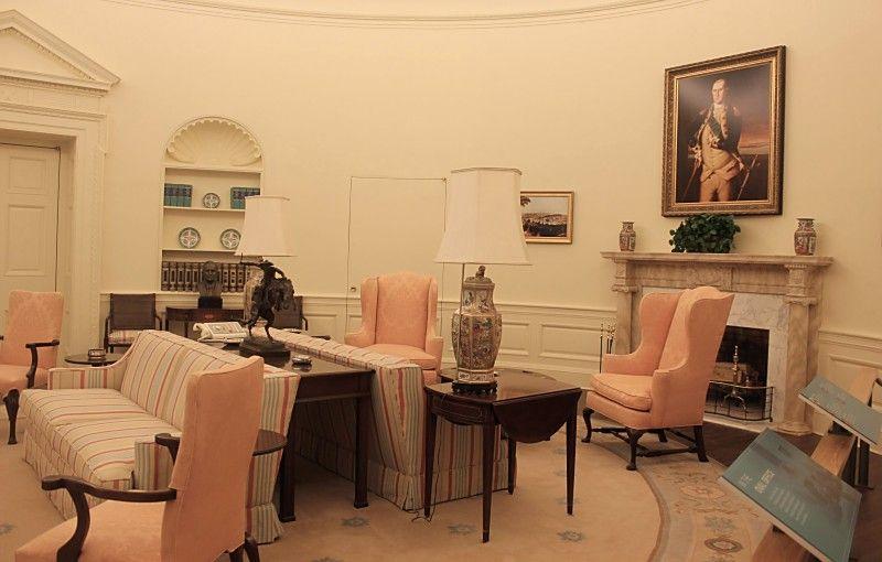 Jimmy Carter Center. Atlanta Replica of his Oval