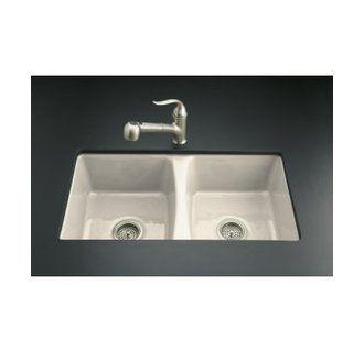 Sink White Porcelaine Double Bassin Undermounted Extra Deep Sink Cast Iron Kitchen Sinks Undermount Kitchen Sinks Sink