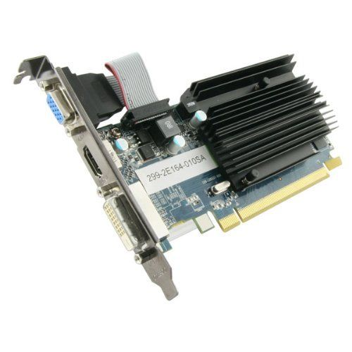 Sapphire 100322l Radeon Hd6450 1gb Ddr3 Pci Express Video Card Hdmi Dvi D Vga Model 11190 02 20g Retail By Sapphire By Sapphire Graphic Card Video Card Hdmi
