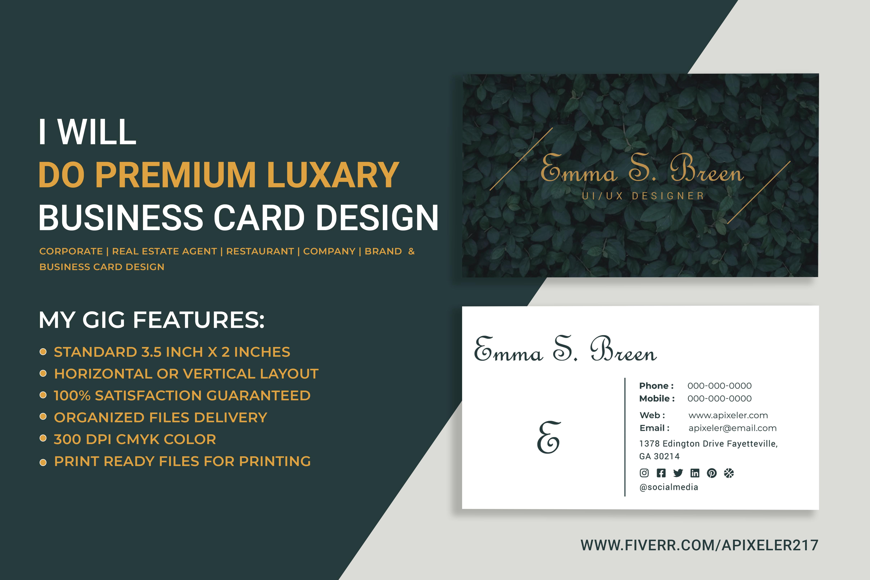 Apixeler217 I Will Design Real Estate Business Card For 10 On Fiverr Com Business Card Design Luxury Business Cards Real Estate Business Cards