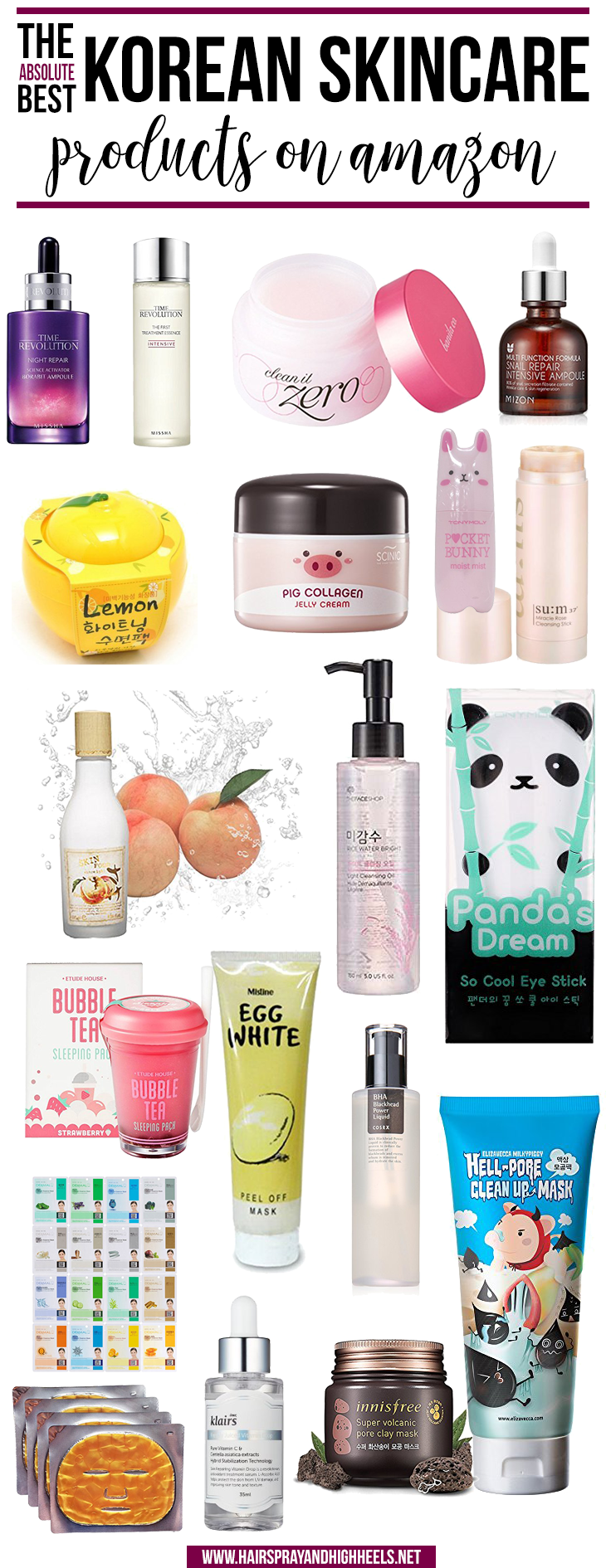 Best Korean Skincare On Amazon Hairspray And Highheels Korean Skincare Skin Care Skin Care Tips