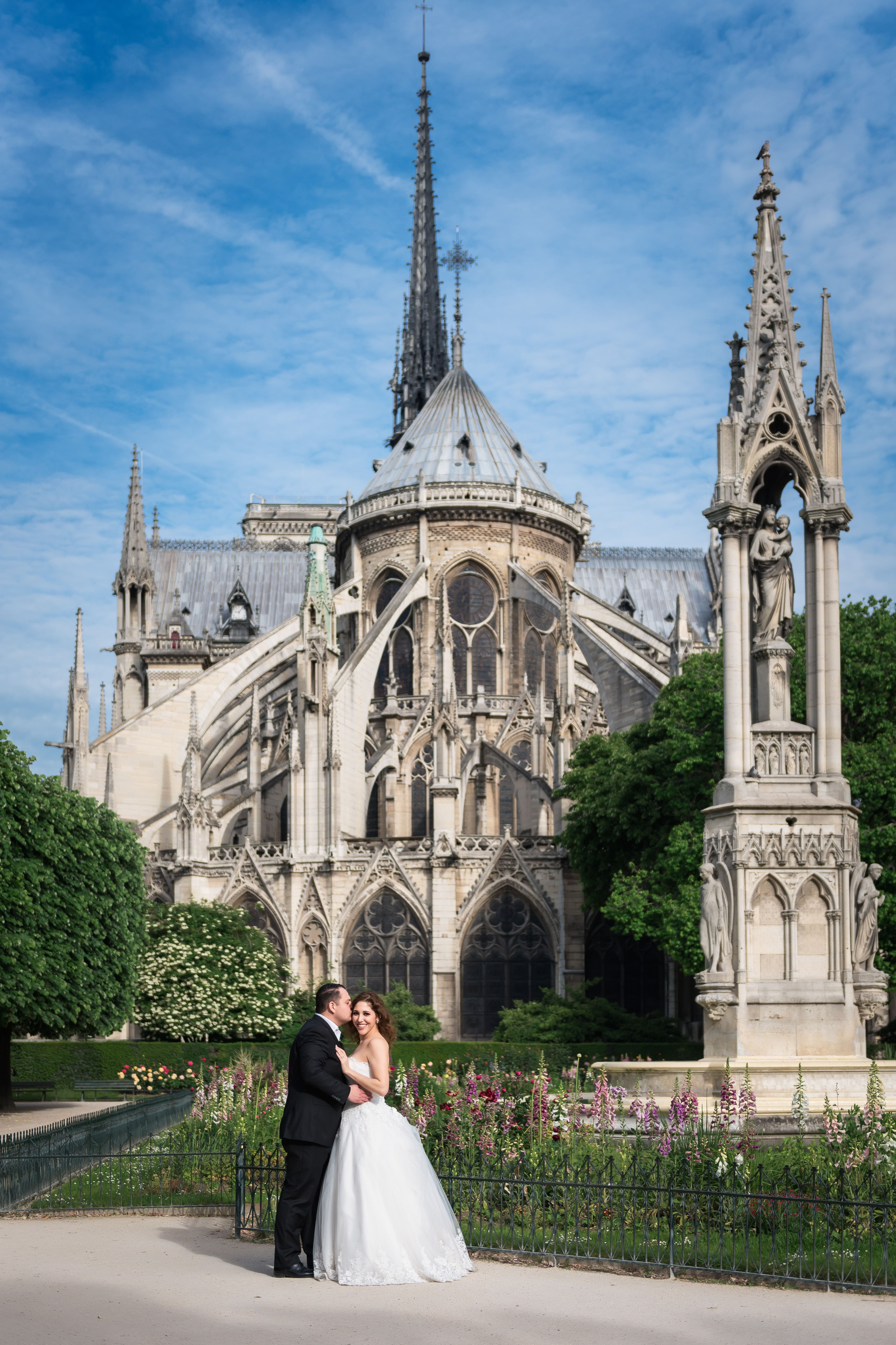 The Notre Dame cathedral is one of the most iconic venues