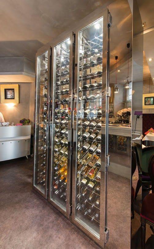 Une Jolie Cave A Vin De Luxe Sur Mesure Par Provintech Wine Wall