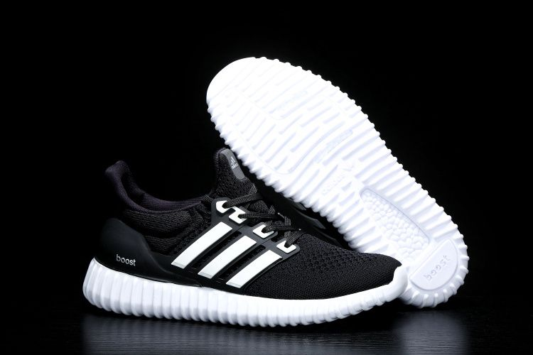 7b2eb068c 2018 Sale Adidas Ultra Boost X Yeezy Black White Shoes Outlet ...
