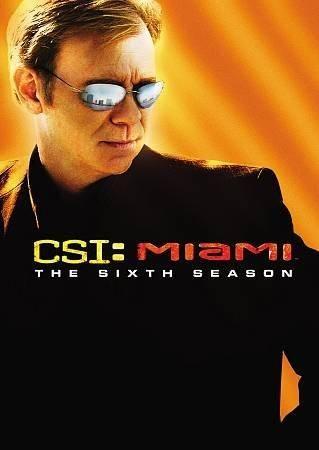 Csi Miami Complete Sixth Season Shows Cartaz E Miami
