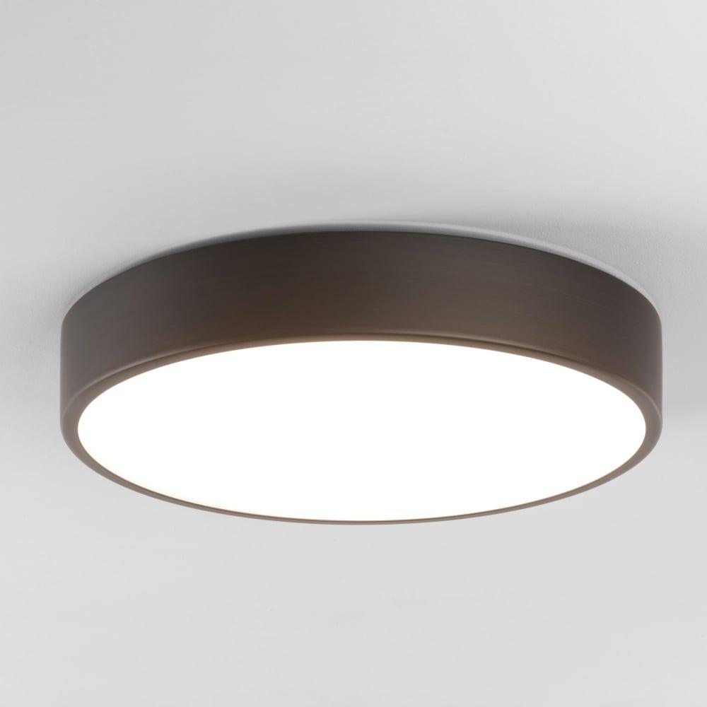 Astro Lights Mallon Led Bathroom Ip44 Ceiling Light In Bronze