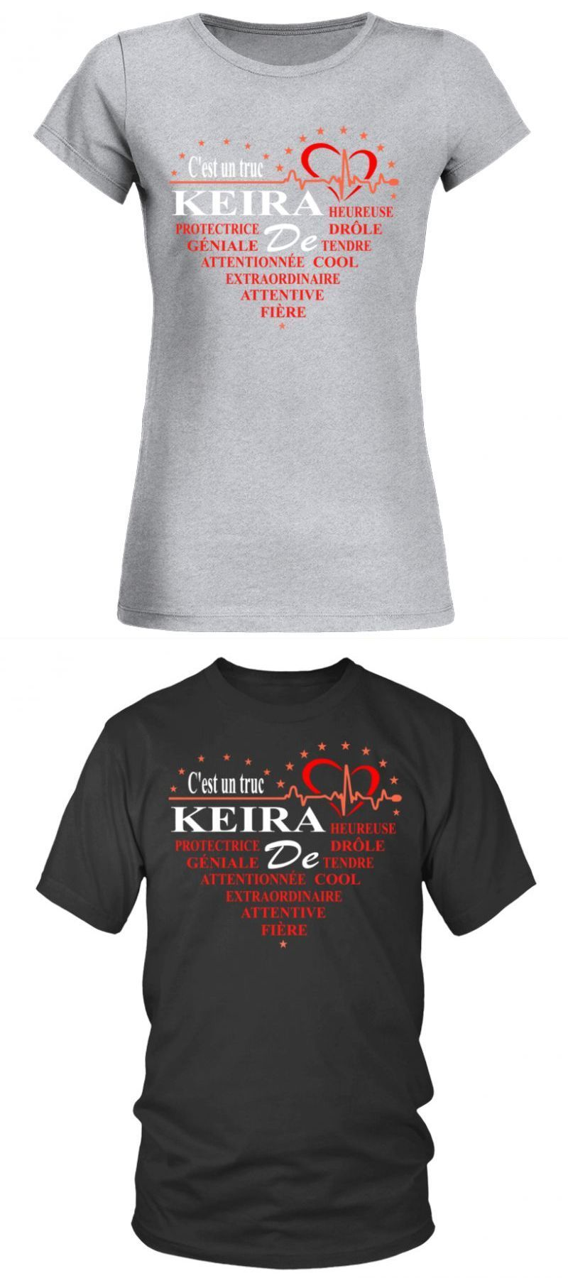 High Quality T Shirt Printing With Keira Cest Un Truc De Keira Order