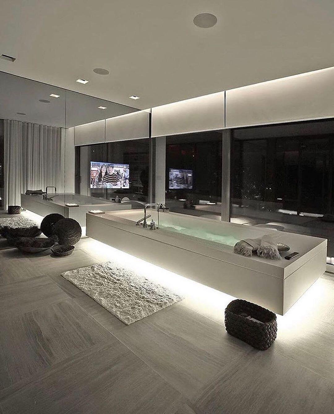 Perfect Modern Interior Follow Interiors Media For More Designed By Tanju Ozelgin Interio In 2020 Badezimmer Design Traumhafte Badezimmer Badezimmereinrichtung