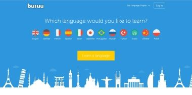 Platform to learn a language from free