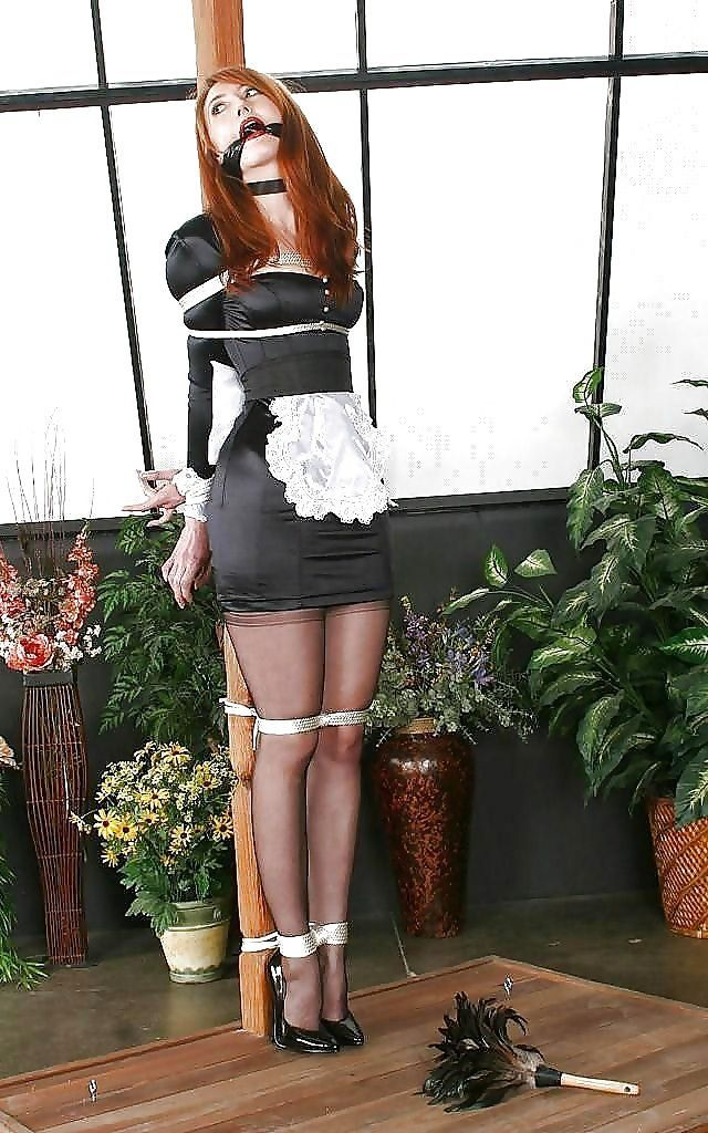 Opinion you French maid tied up and gagged think, that