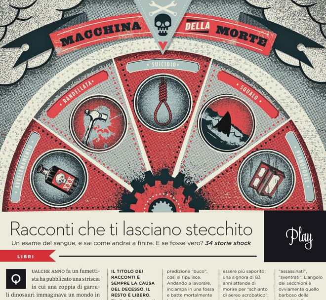 Macchina Della Morte by TWO ARMS INC // published in Wired Italy