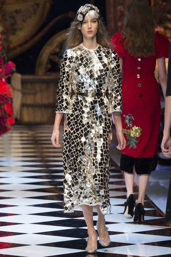 Top 10 Collections Fashion Week AH 2016 : Dolce y Gabbana