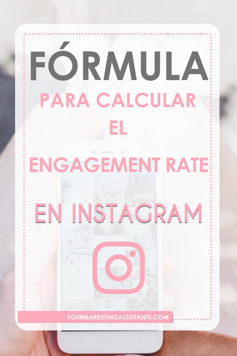 Cómo Calcular El Engagement Rate En Instagram Yourmarketingassistants Estrategias De Marketing Marketing De Contenidos Instagram