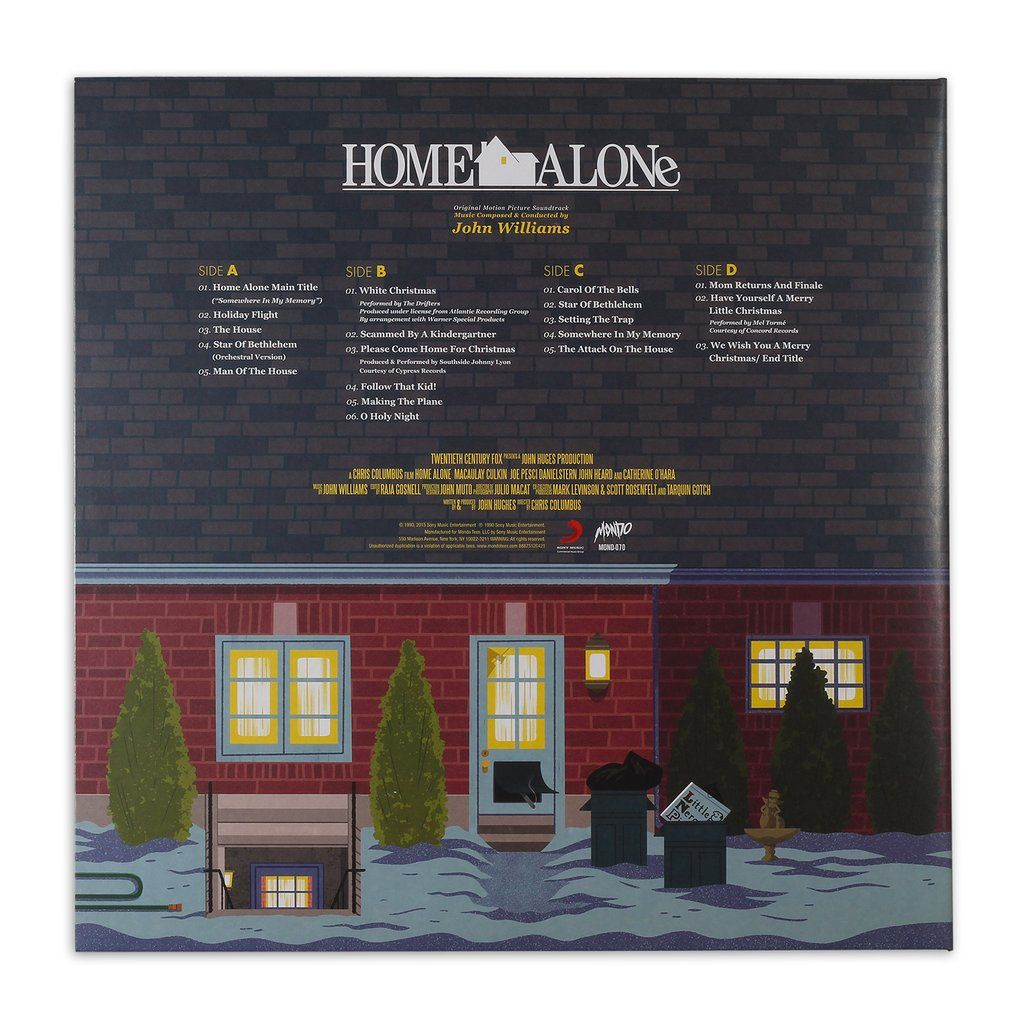Home Alone Original Motion Picture Soundtrack 2XLP in 2020 | Classic christmas songs, Soundtrack ...