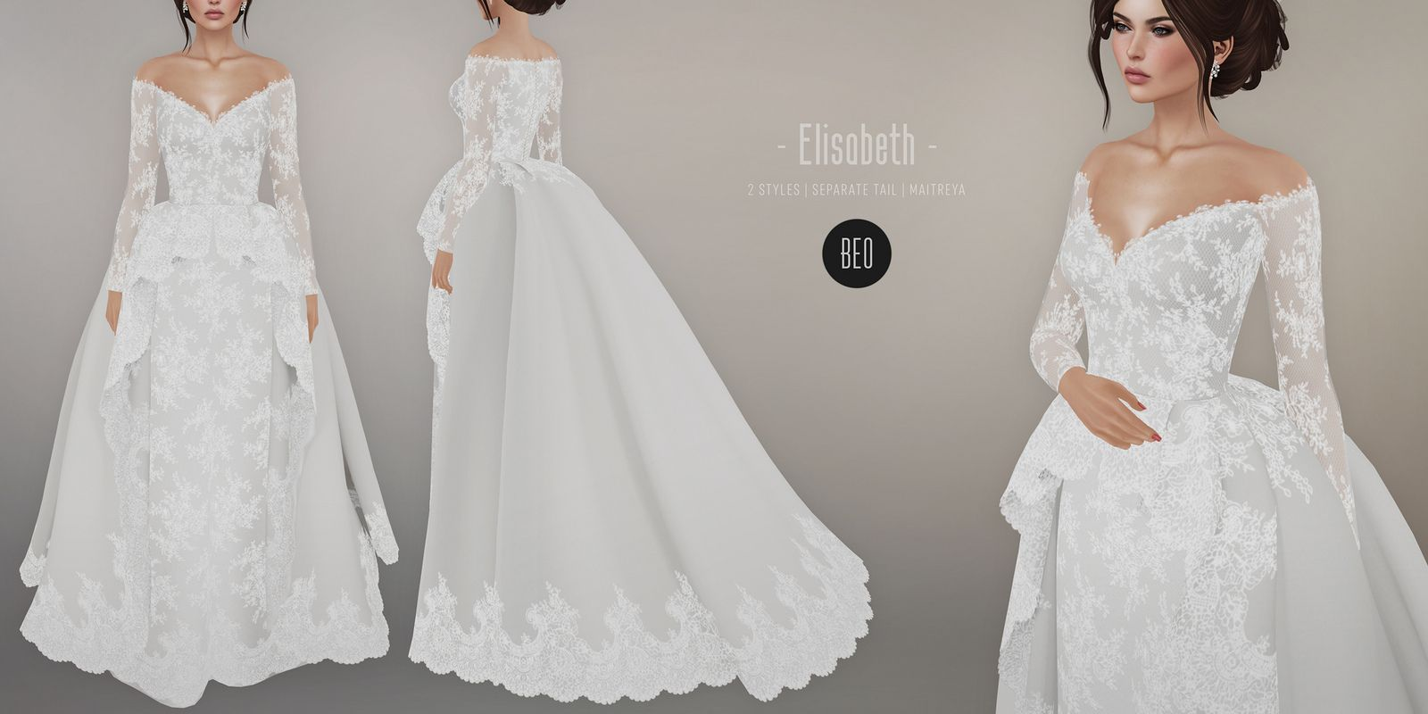 Beo Elisabeth Wedding Gown Sims 4 Wedding Dress Sims 4