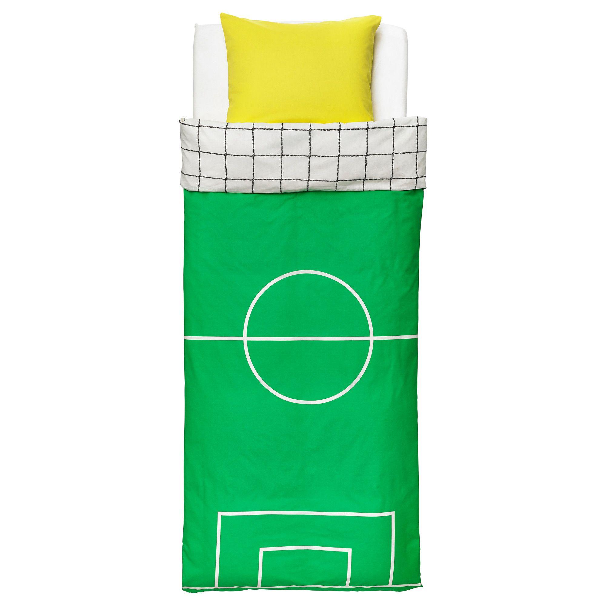 SPELPLAN Capa de edredão e fronha - IKEA