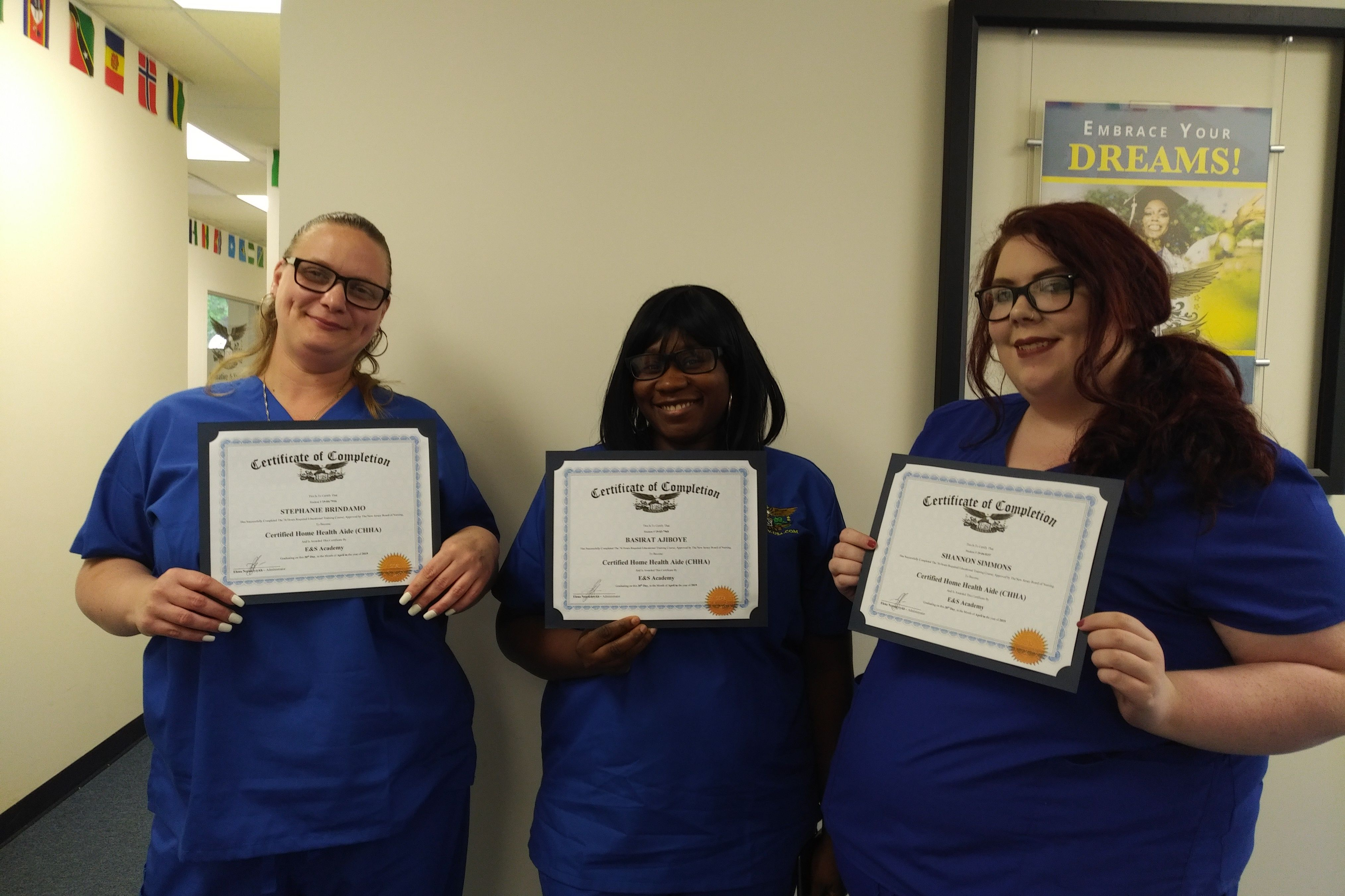 This Is The Saturday Of Success This Can Be You We Are Offering Employment Opportunities To Certifie Education Success School Of Education Home Health Aide